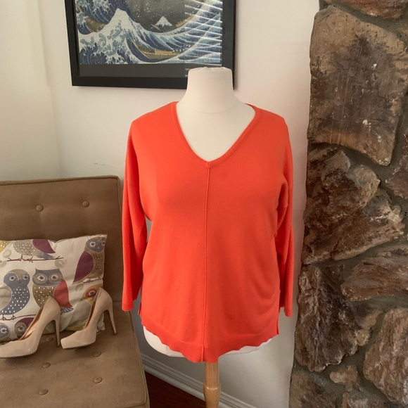 Lane Bryant Sweaters - Lane Bryant size 18 orange sweater